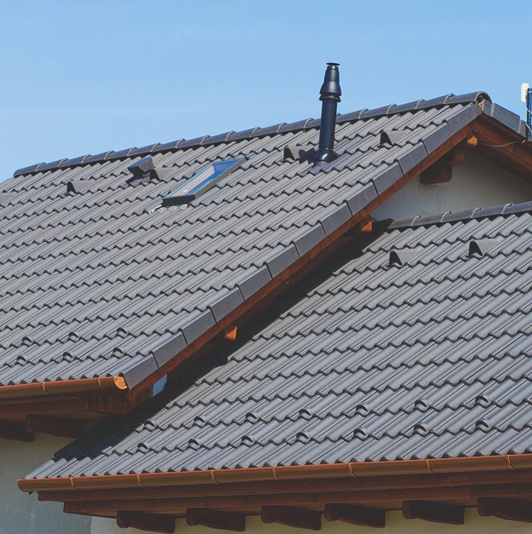 Dach z dachówki